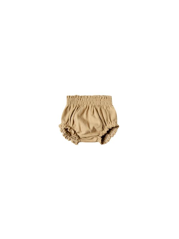 Gathered Bloomer Organic Brushed Jersey - Honey