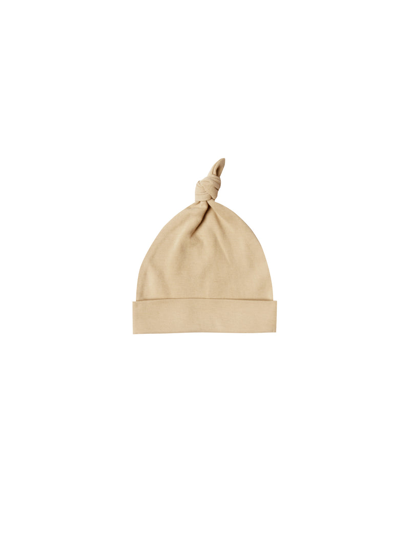 Knotted Baby Hat - Honey