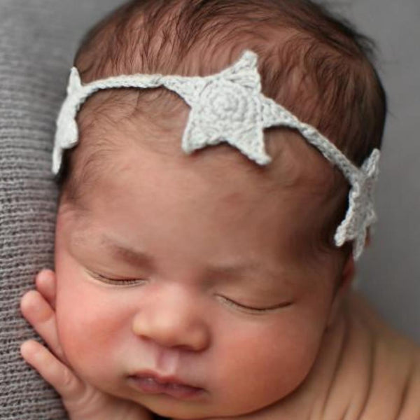 Star Headband, Cream