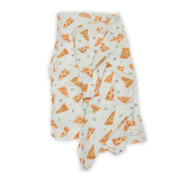 Pizza Muslin Swaddle