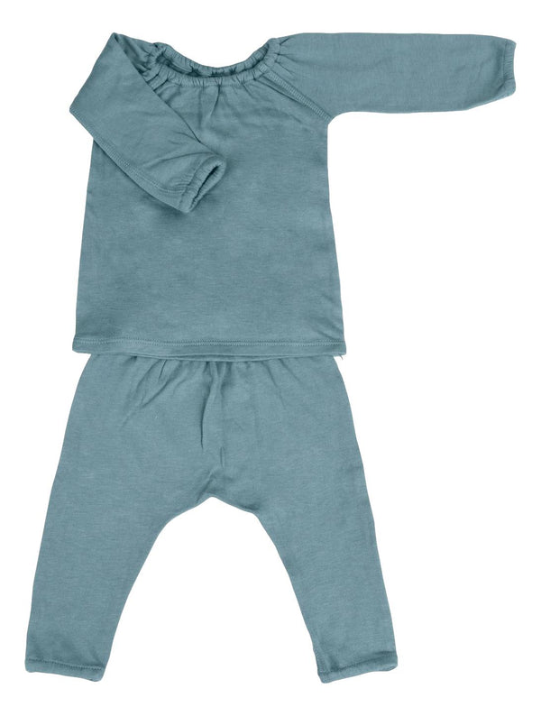 Double Knitted Long Sleeve and Pant Set - Knightly
