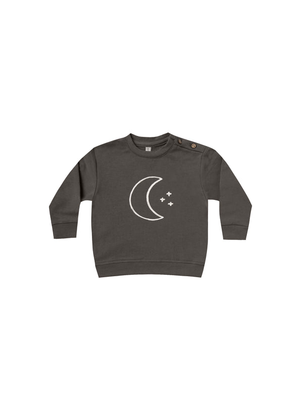 Fleece Basic Sweatshirt - Coal