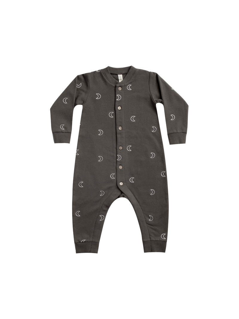 Fleece Jumpsuit - Coal