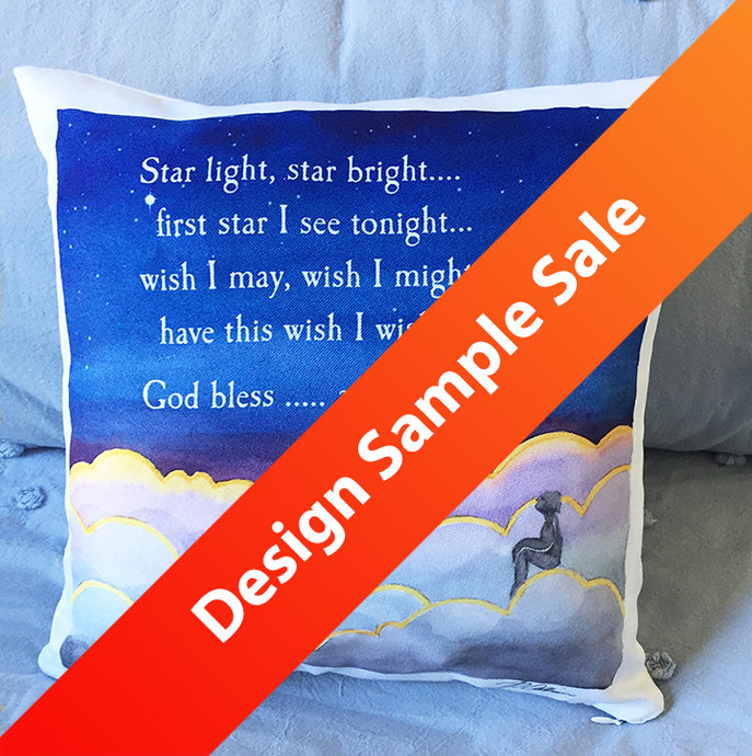 Design Sample Sale! Keepsake Child's Faith Pillow/Pajama Holder