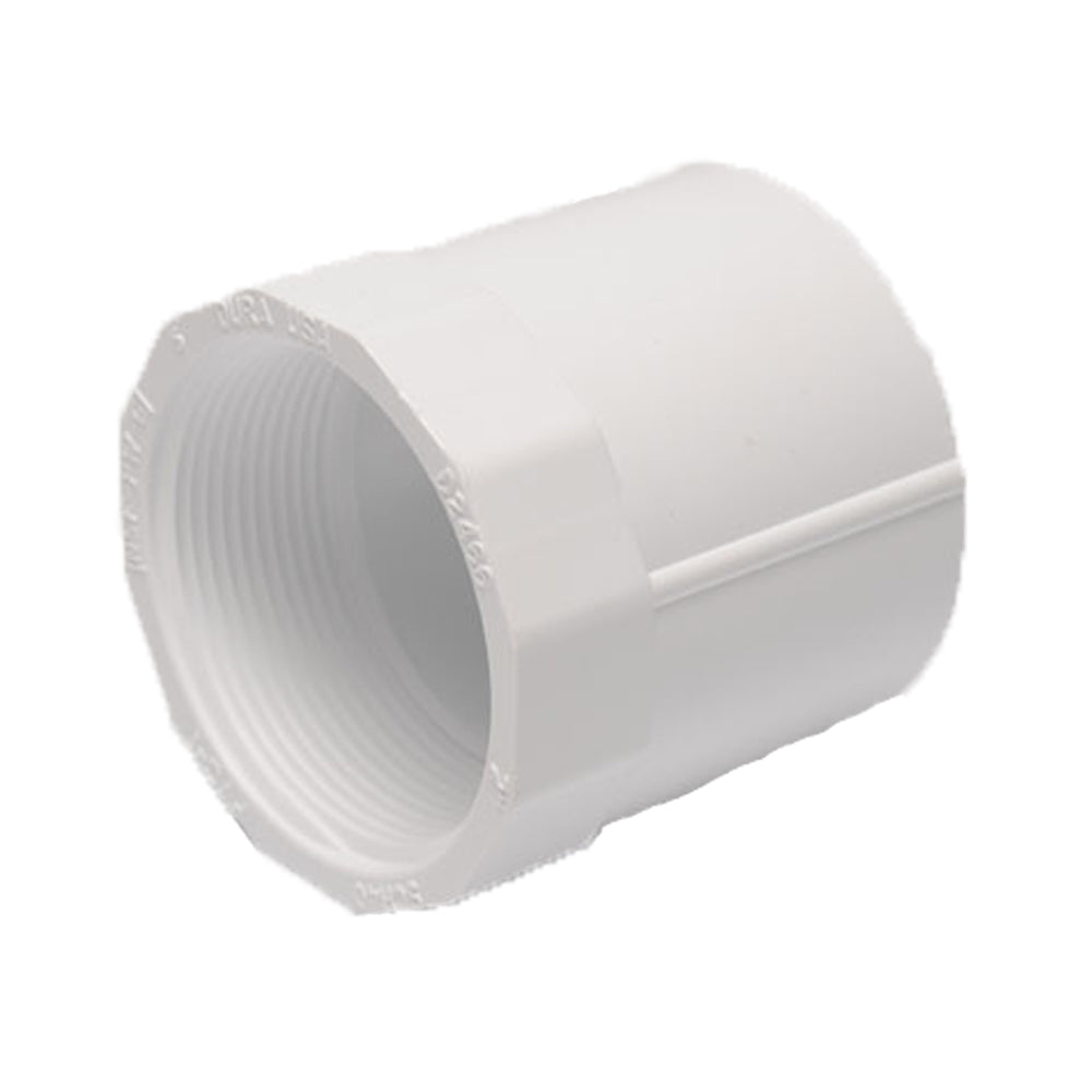 PVC Female Adapter, Slip x Fipt, 1/2""