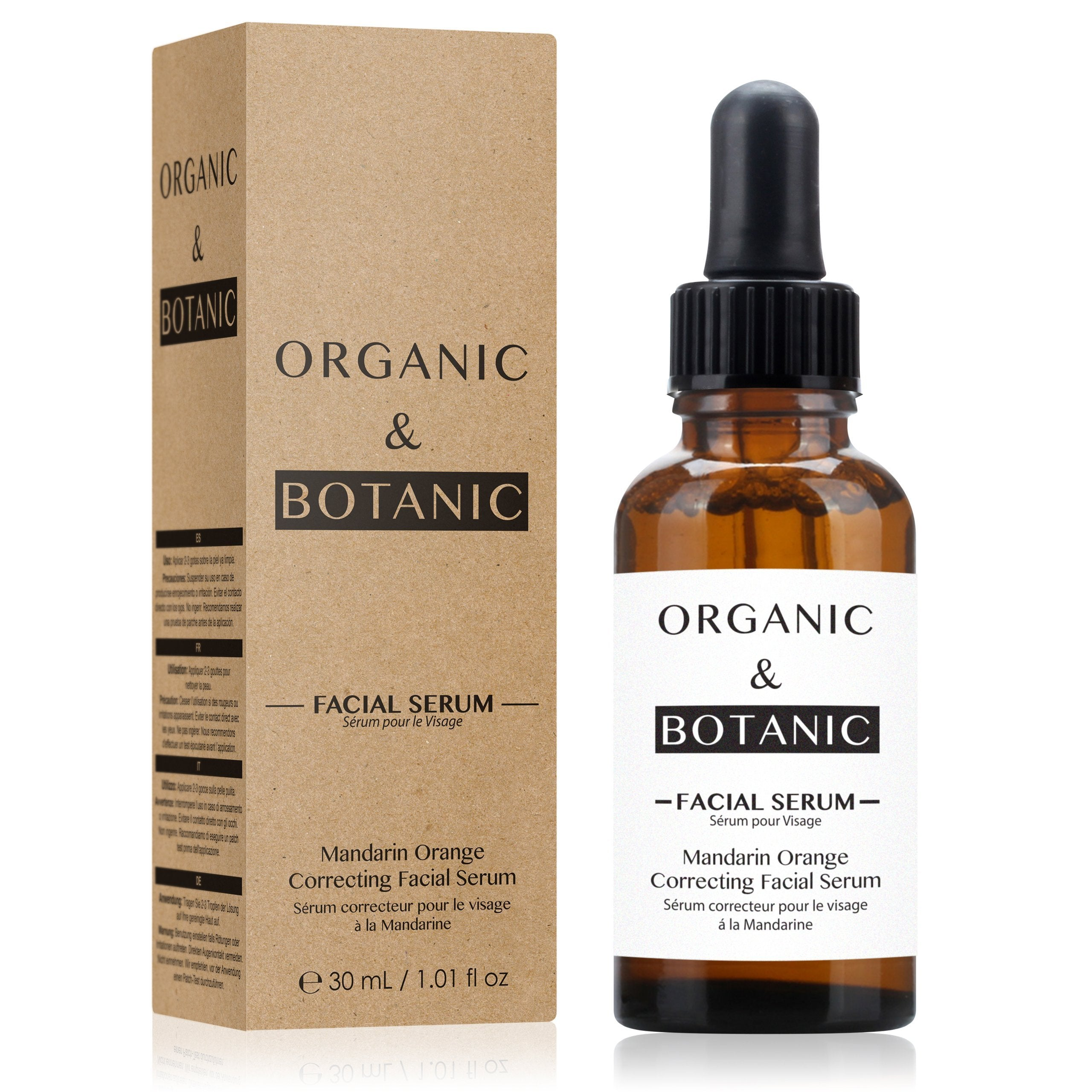 Mandarin Orange Correcting Facial Serum - Dr Botanicals USA