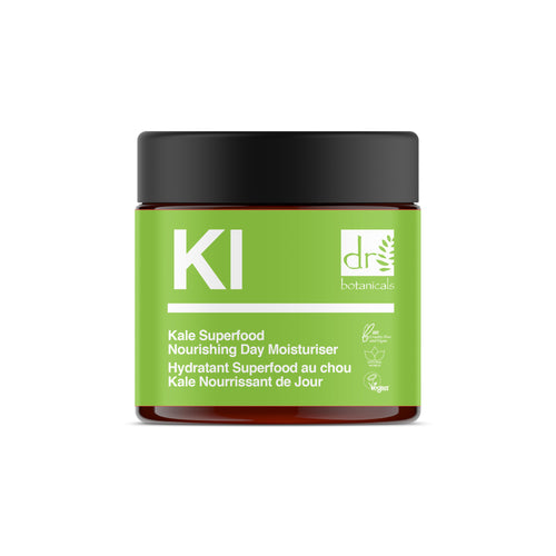 Kale Superfood Nourishing Day Moisturiser - Dr Botanicals USA