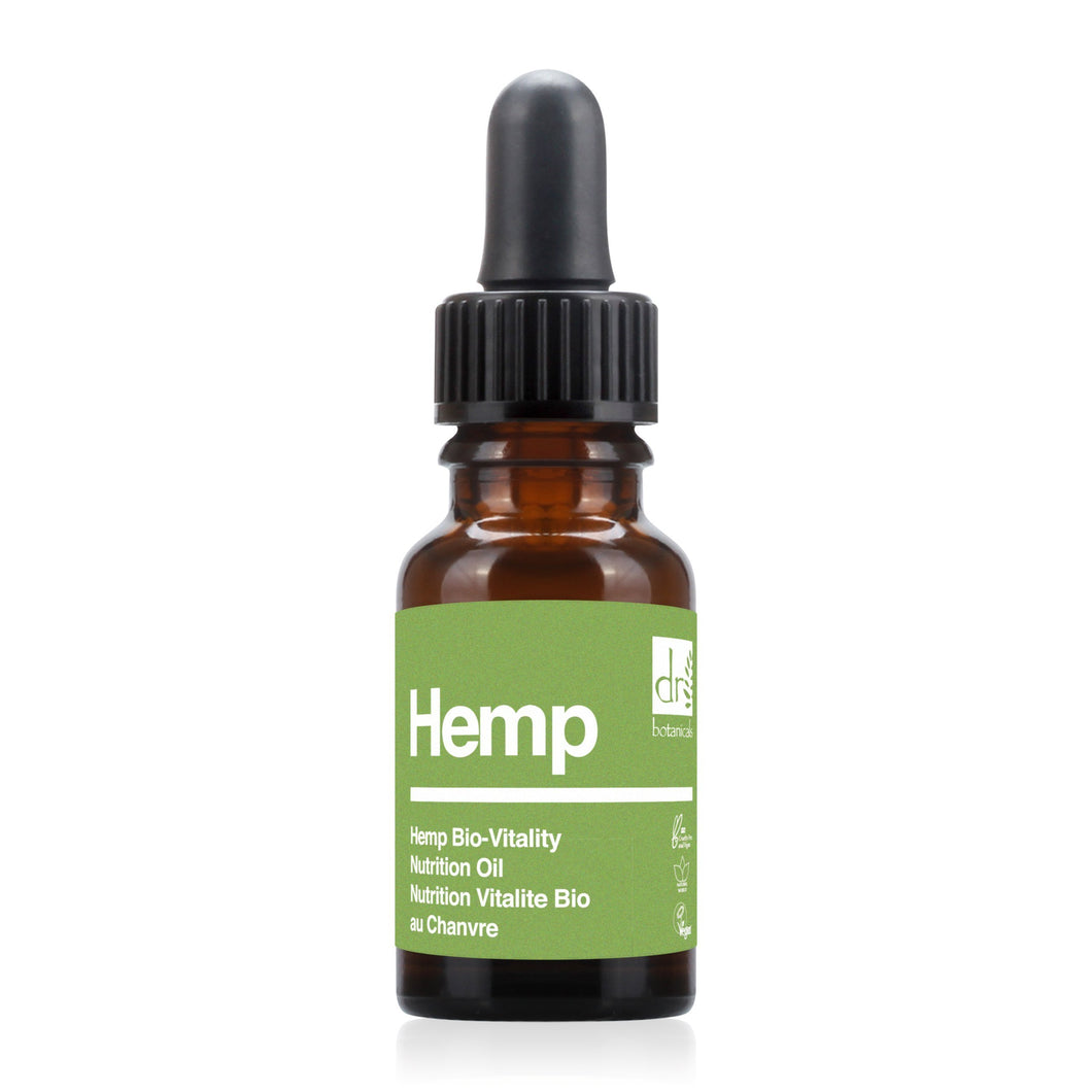 Hemp Bio-Vitality Nutrition Oil 15ml - Dr Botanicals USA