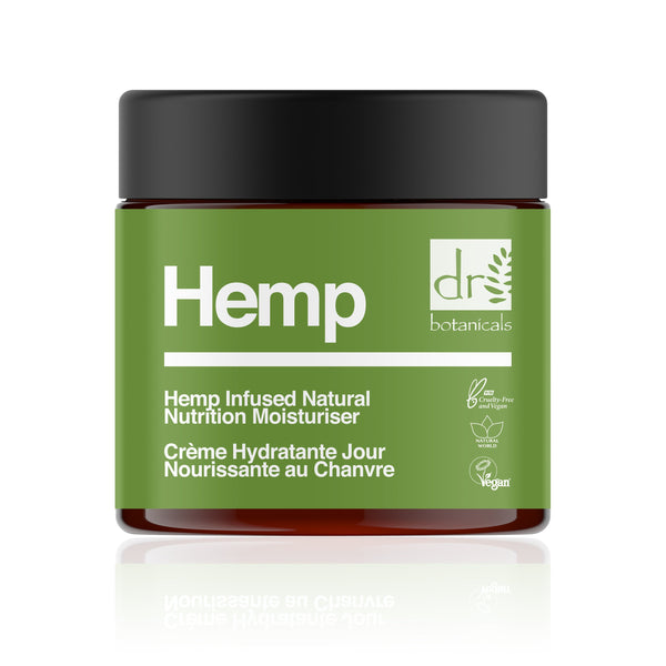 Hemp Infused Natural Nutrition Moisturizer 50ml - Dr Botanicals USA