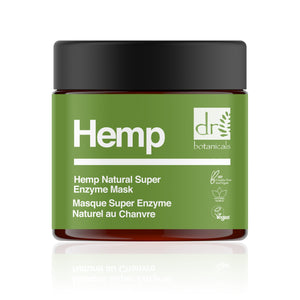 Hemp Infused Super Natural Enzyme Mask 50ml - Dr Botanicals USA