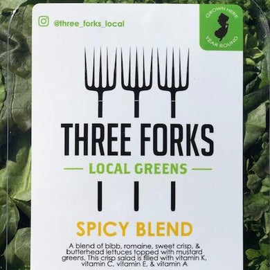 Three Forks Local Greens Spicy Blend
