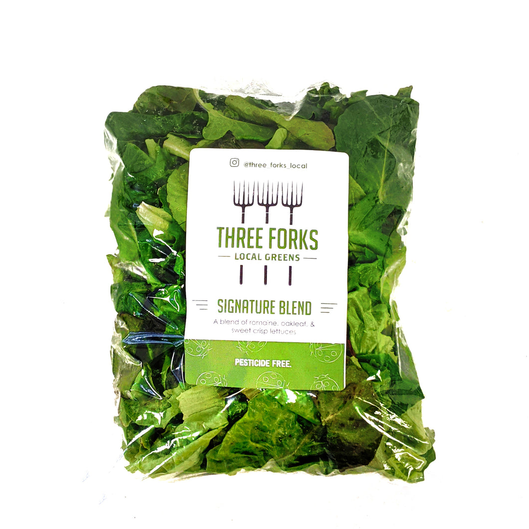 Three Forks Local Greens Signature Blend 5 oz