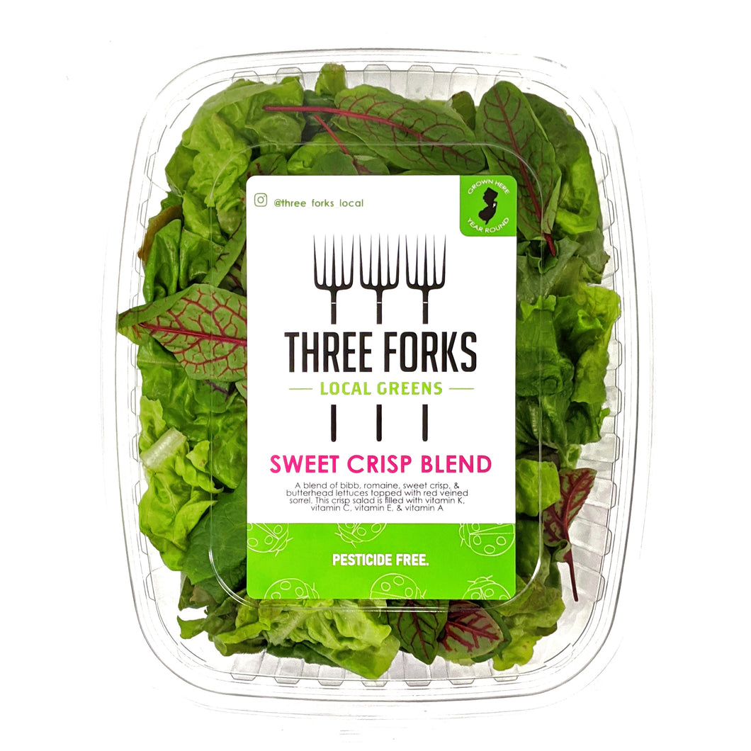 Three Forks Local Greens Sweet Crisp Blend