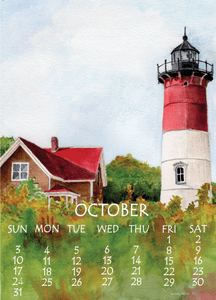 2021 Small Desk Calendar, 5X7 - Wendy Hazen Calendars