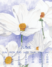 Load image into Gallery viewer, 2021 Small Desk Calendar, 5X7 - Wendy Hazen Calendars