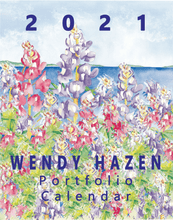 Load image into Gallery viewer, 2021 Large Poster Calendar, 11X14 - Wendy Hazen Designs