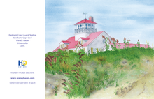 Load image into Gallery viewer, Eastham Coast Guard  (Hand Cut Cards) ~ Cape Cod Lighthouse