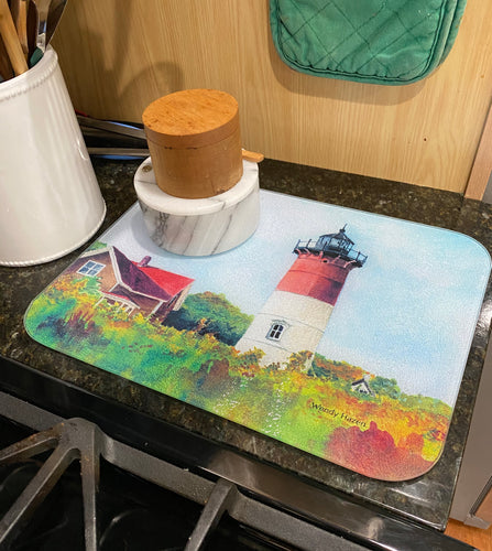 Nauset Light ~ Cape Cod ~ Tempered Glass Trays