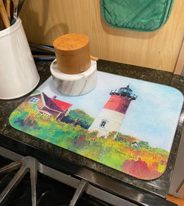 Nauset Light ~ Tempered Glass Trays