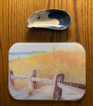 Load image into Gallery viewer, Beach Path ~ Cape Cod ~ Tempered Glass Trays