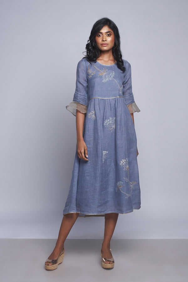 Plant Panaroma Amanda Dress Twilight-Dresses-Kaveri