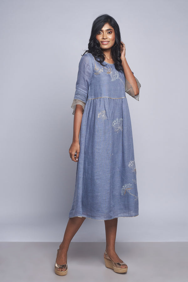 Plant Panorama Amanda Dress Twilight-Dresses-KAVERi