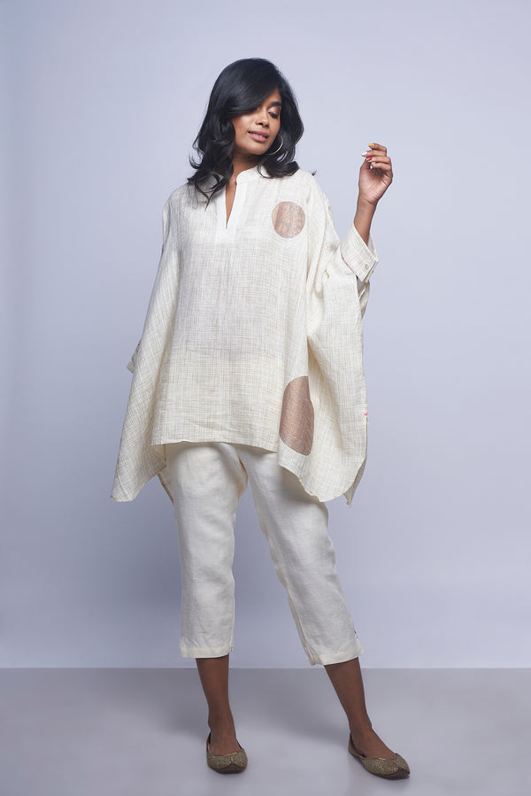 Moon Stone Square Top Off-White-Tops-KAVERi