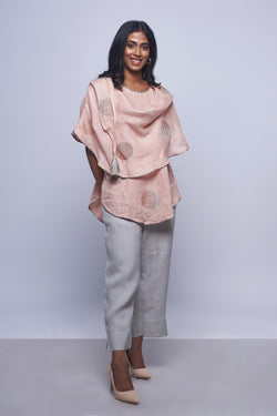 Moon Stone Croissant Top Dusty Rose-Scarf-KAVERi