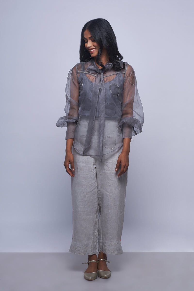 Circles in the Sand Shimmer Top Iron-Tops-KAVERi