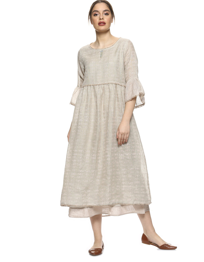 Dot Dash Dot Dot Amanda Dress Natural-Dress-KAVERi