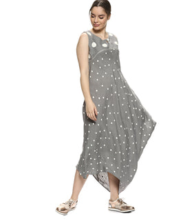 Do The Polka Bali Dress Ash-Dress-KAVERi