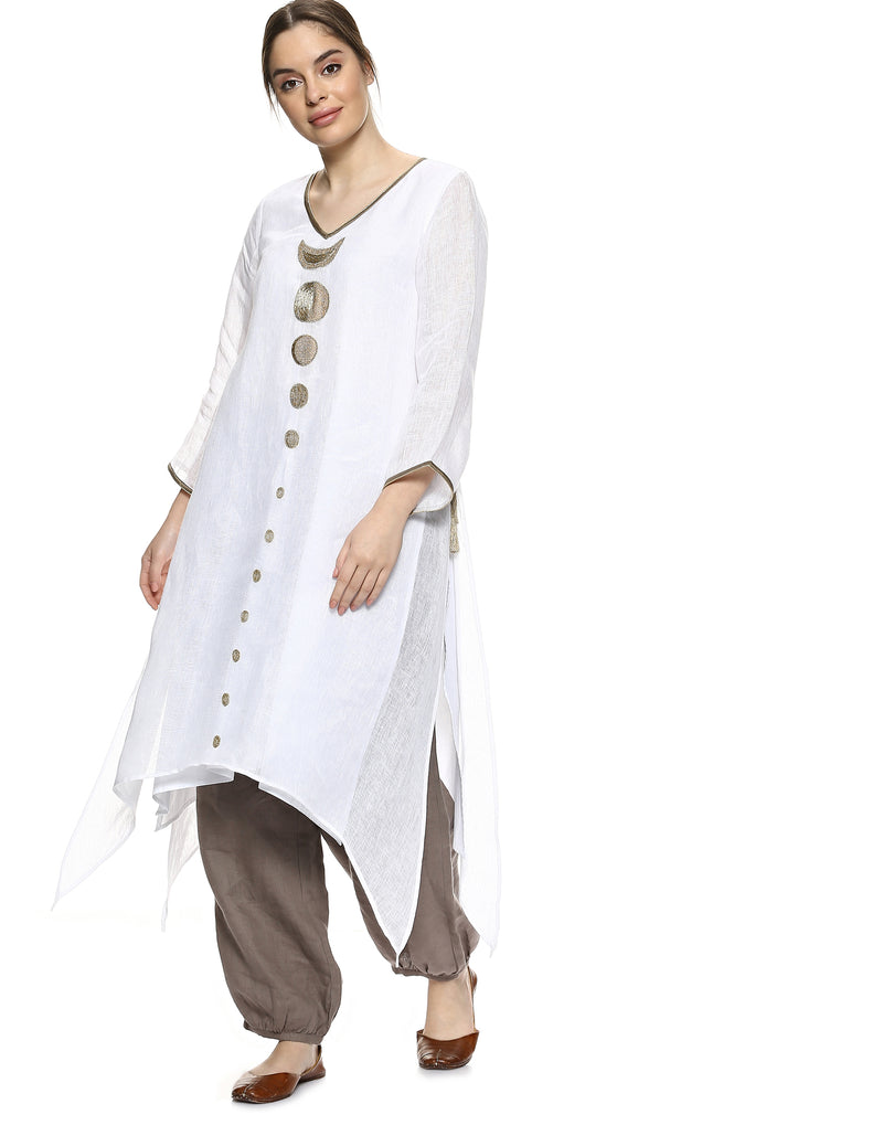 Eclipse Fly free tunic white-Tunic-KAVERi