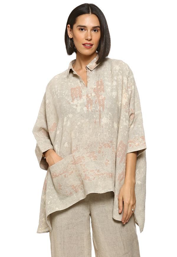 Essence Square Dusty Rose Top-Tops-KAVERi