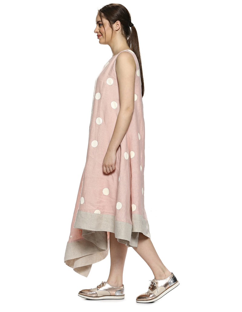 Do The Polka Saviour Dress Dusty Rose-Dress-KAVERi