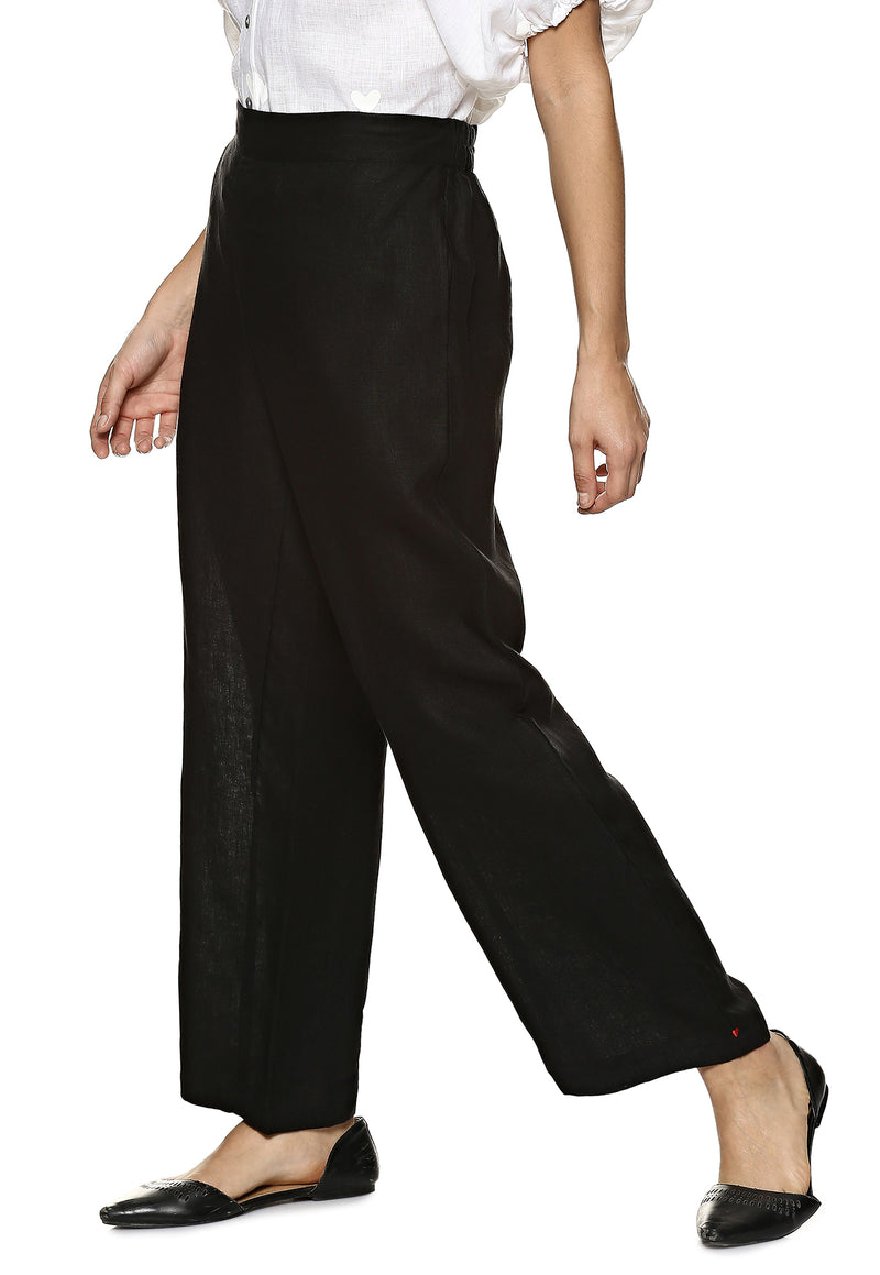 Stylish Staples Lounge Pant Black-Pants-KAVERi