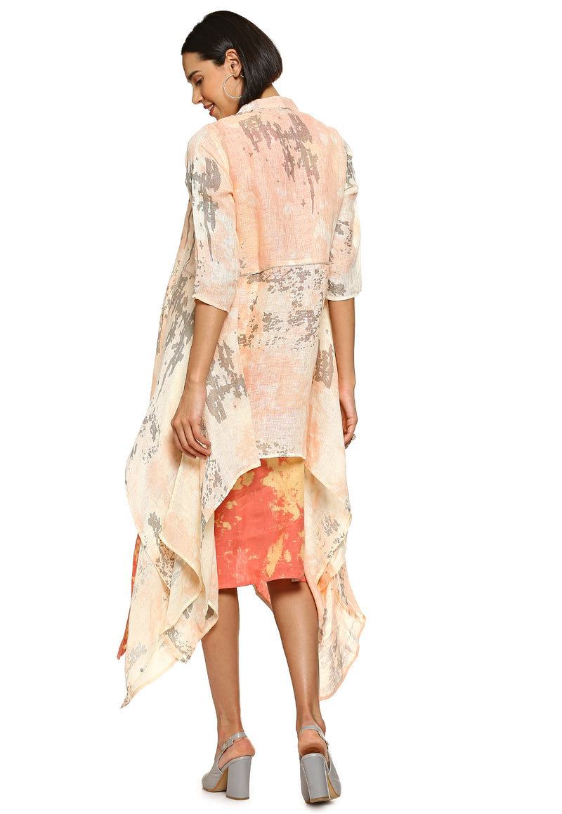 Essence Go WIth the Flow Peach Jacket-Jackets-KAVERi
