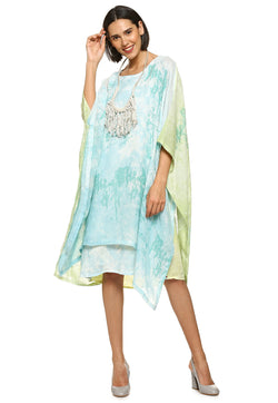 Essence Harbour Ocean Blue Dress-Dresses-KAVERi