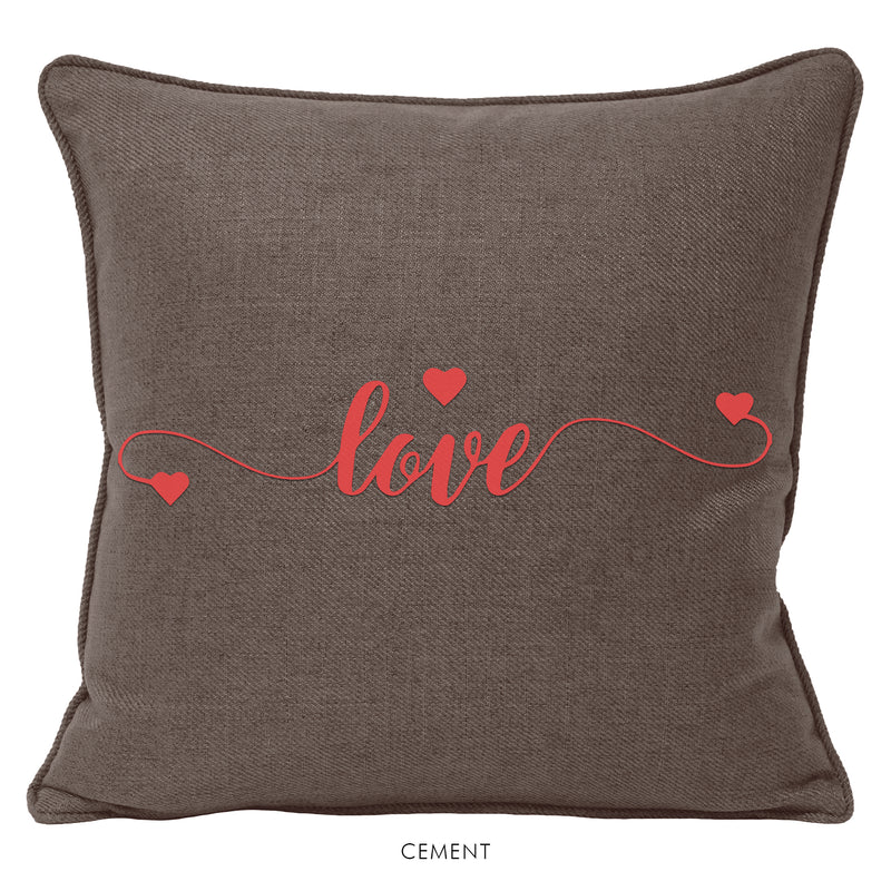ALL YOU NEED IS LOVE | Set of 2 Cushions-Cushion-KAVERi