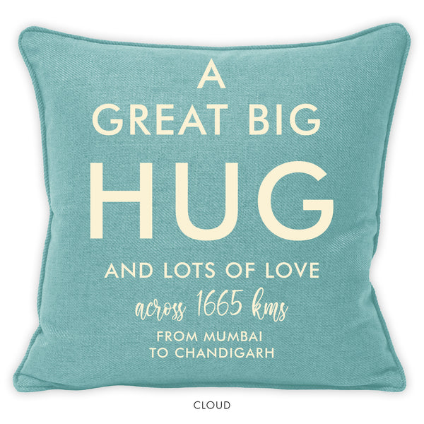 A GREAT BIG HUG | One Cushion-Cushion-KAVERi