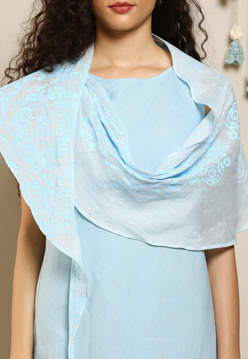 Crescent Soul Crescent Maria Dress Powder Blue-Dresses-KAVERi