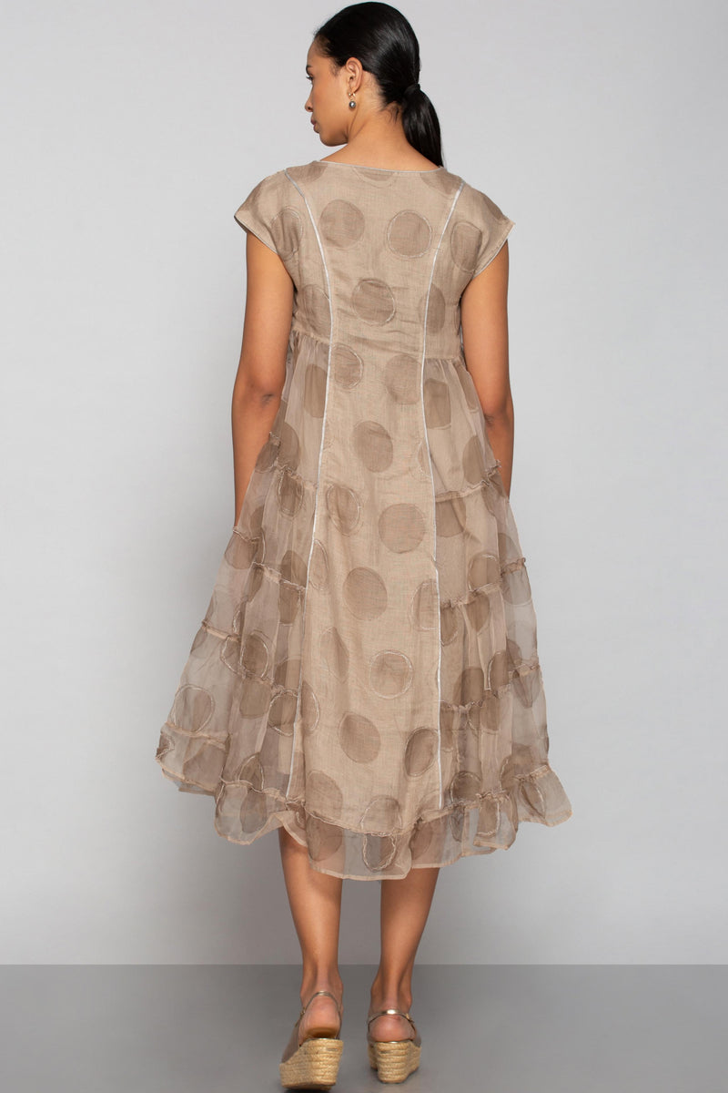Circles in the Sand Amy Dress Sand Castle-Dresses-KAVERi