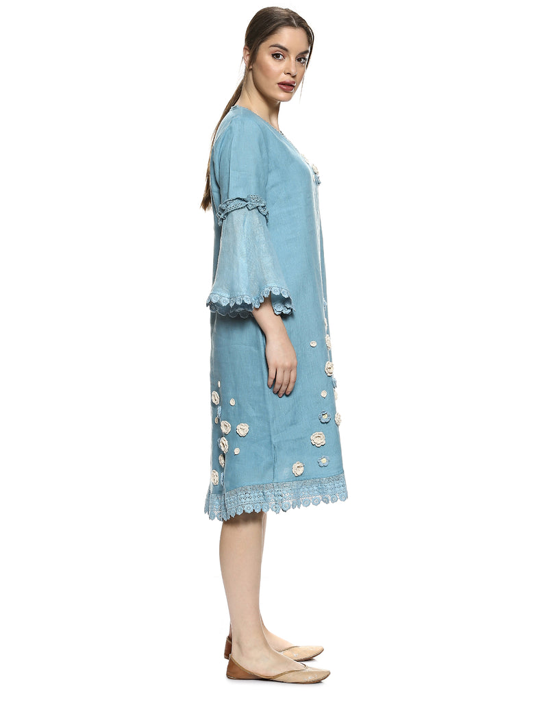 Dream Love Veronica Ocean Dress-Dresses-KAVERi
