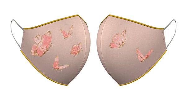 BUTTERFLY GARDEN | Set of 3-Masks-KAVERi