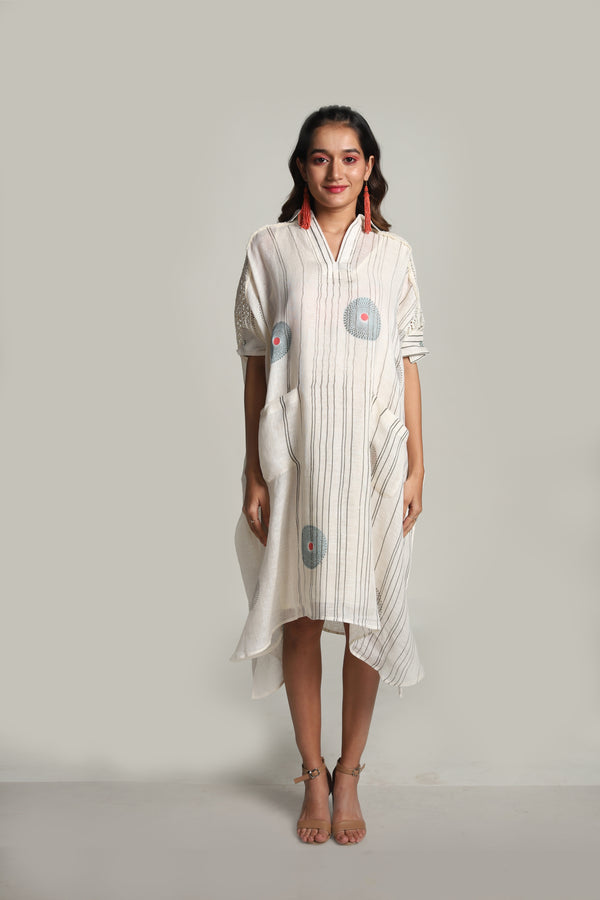 Echo Square Dress Off-White-Dresses-KAVERi