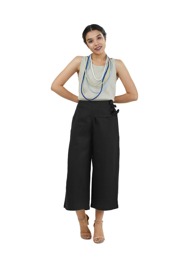 The Pant Story Farmer Pants Black-Pants-KAVERi