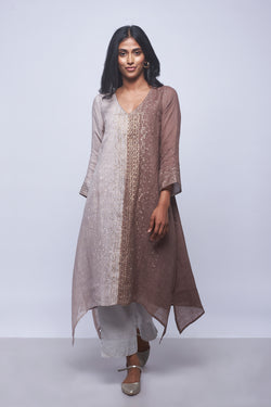 FLY FREE TUNIC + PANTS - SIEANA + SAND CASTLE-Kurta Set-KAVERi