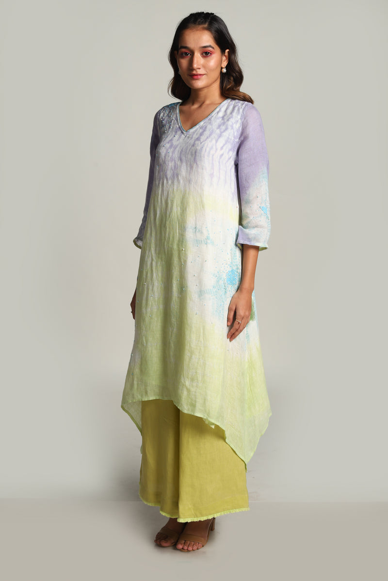 Sun Rises But Never Sets Fly Free Tunic-Tunics-KAVERi