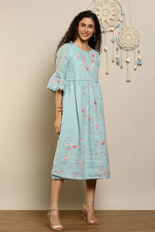 Hanami Amanda Dress Cloud-Dresses-KAVERi