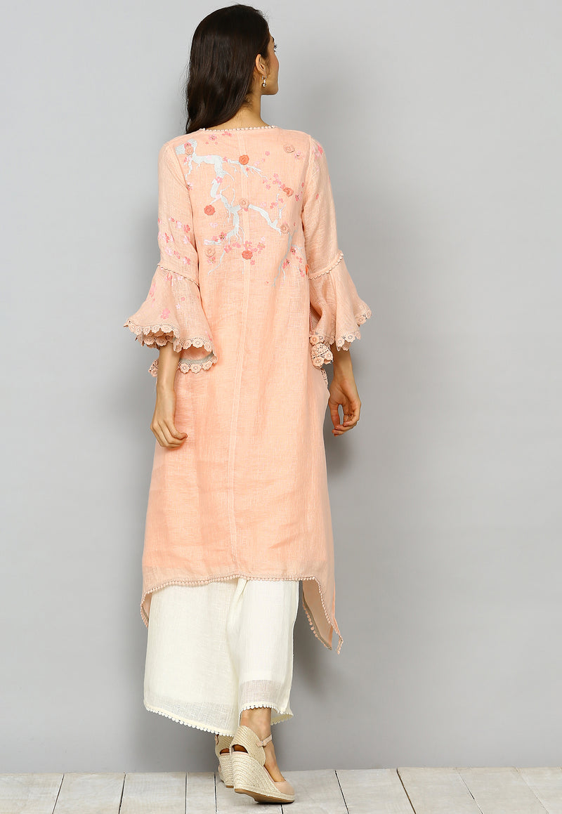 Hanami Fly Free Tunic Dusty Rose-Tunics-KAVERi