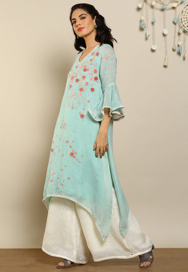 Hanami Fly Free Tunic Cloud-Tunics-KAVERi